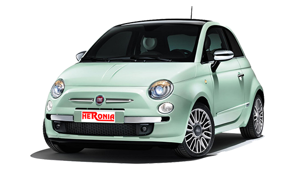 Fiat 500 (Glass roof – special edition)