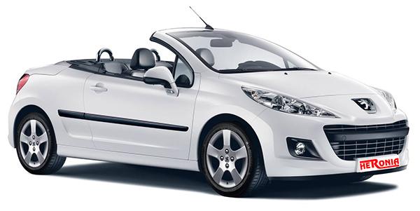 Peugeuot 207CC (Automatic) Cabrio
