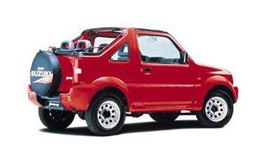 Suzuki Jimny (4×4) — Open top Jeep